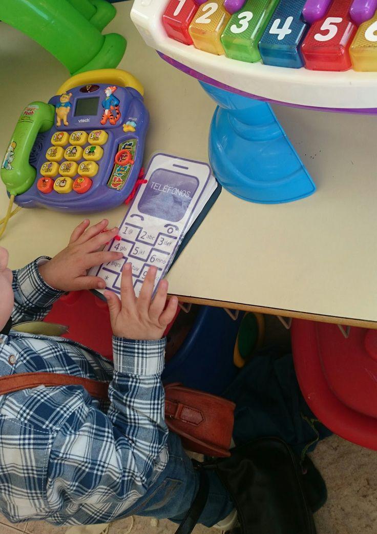 ¡Asómate a mi cole!: VOY A LLAMAR POR TELÉFONO: números de la vida coti...