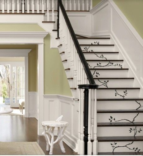 Top 70 Best Painted Stairs Ideas: 17 Best Images About Redoing The Hallway On Pinterest