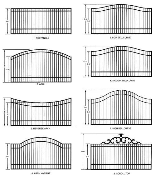 Single arm driveway gates
