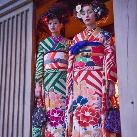 """着物ガール/ブライダルコア伊谷 (@kimonogirlbridalcoreitani) on Instagram: """"世の中はなんでも両極端なものが対にになっている。死と生、光と影、陰と陽、と太陽、善と悪、長所と短所、悲しみと喜び、表と裏、、、。…"""""""