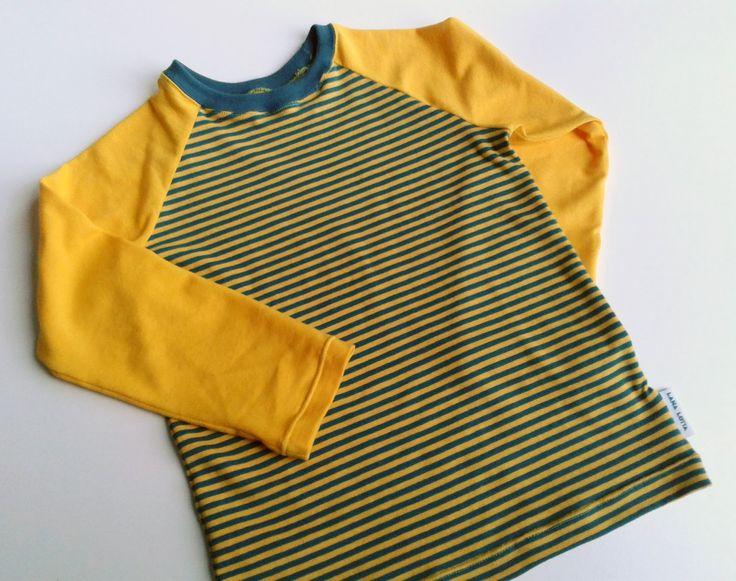 LanaLotta: Raglan in streepjes - tutorial voor een t-shirt