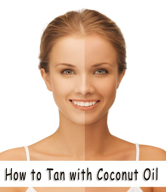 How to Tan with Coconut Oil