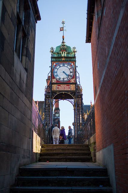 Chester, England... Second most photographed clock, next to Big Ben
