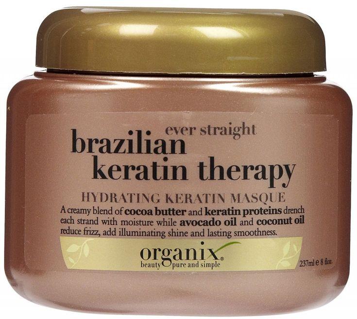 Product Review: Organix Brazilian Keratin Therapy Hydrating Keratin Masque #haircare #beauty
