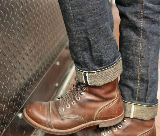 Can never pass up tough captoe boots and selvedge denim. #menswear