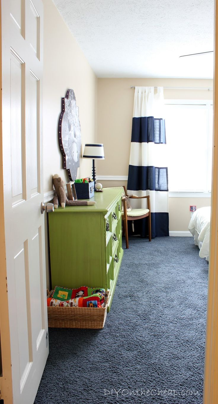 Green boys bedroom ideas - Big Boy Room Transformation Reveal
