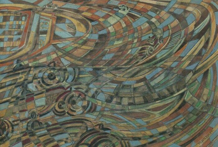 Uberto Bonetti automobili in corsa sul tetto del Lingotto