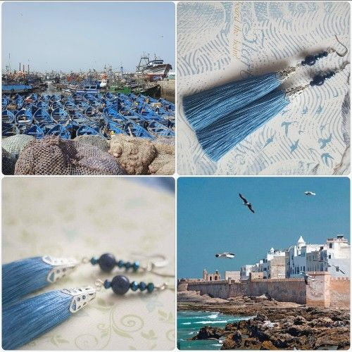 "Efulki Tassels ""Essaouira"""