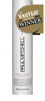 Platinum Blonde Shampoo™  Brightens blonde, grey or white hair    Banishes brassiness for light coloured locks. Helps soften brittle strands, add moisture and boost shine. Bring out the best in any blonde shade!  Conditioning agents and extracts help hydrate hair   and intensify shine.  Colour-enhancing formula.