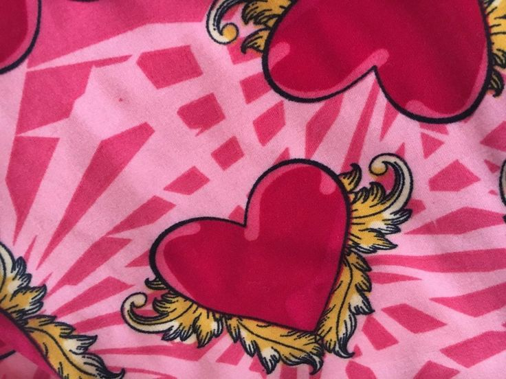 Lularoe TC Tall and Curvy Valentines Day hearts Leggings tattoo wings pink red #Lularoe