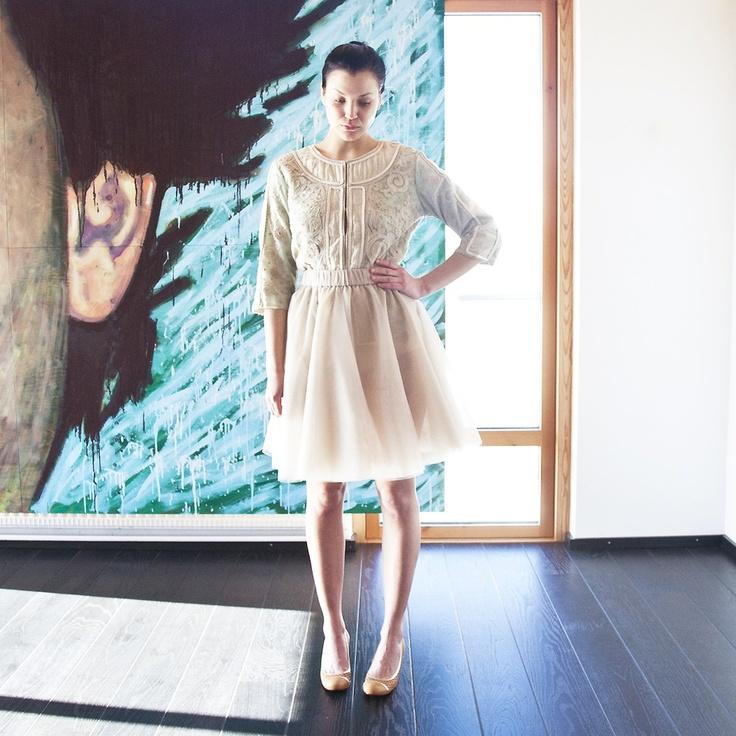 Tulle Skirt by Cathrine Hammel