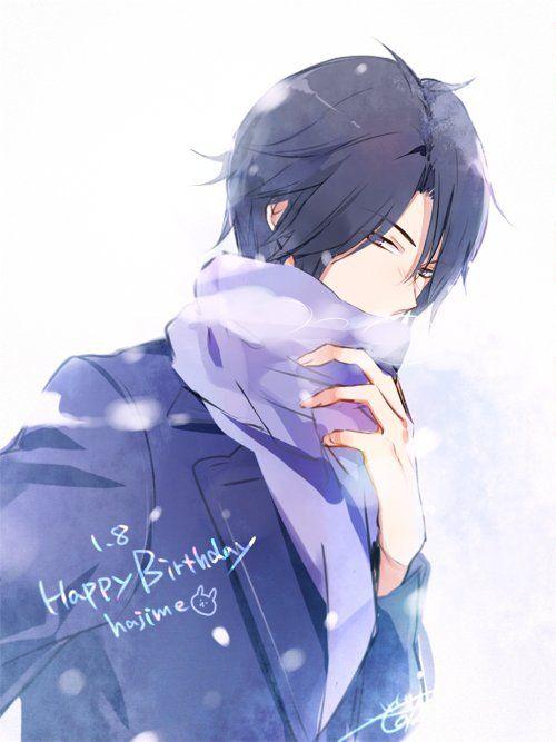 TSUKIUTA Happy birthday, Hajime.