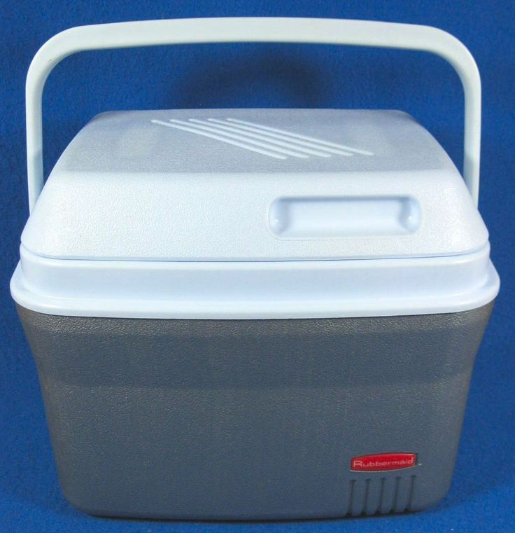 lunch box cooler vintage rubbermaid 1826 cooler lunch box bronze amp white w 31344