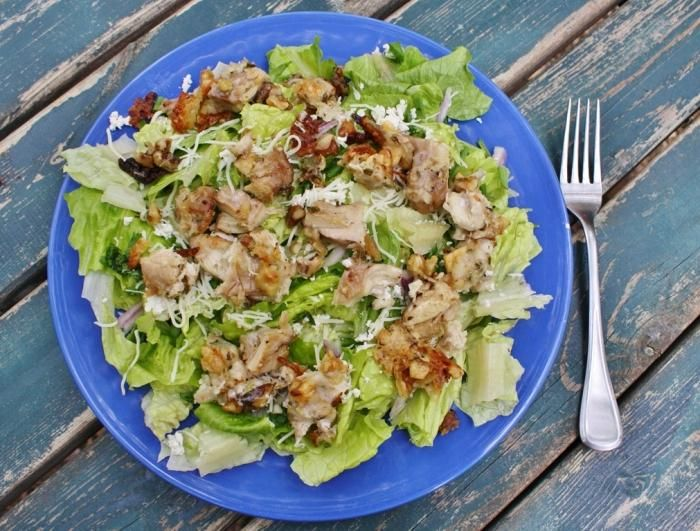Салат курица грецкие орехи сыр