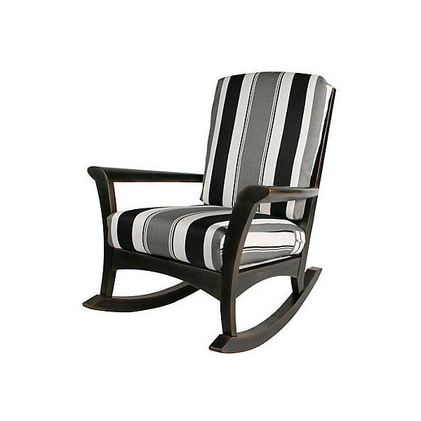 Eden Rocker Outdoor Rocking Chairs ($975) ❤ Liked On Polyvore Featuring  Home, Outdoors
