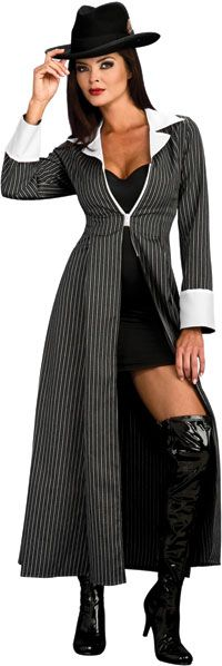 Adult Gangster Costume - Gangster and Mobster Costumes