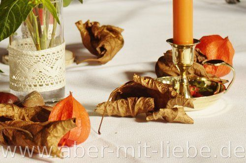 17 best images about tischdeko 39 goldener herbst 39 on for Deko kupferfarben