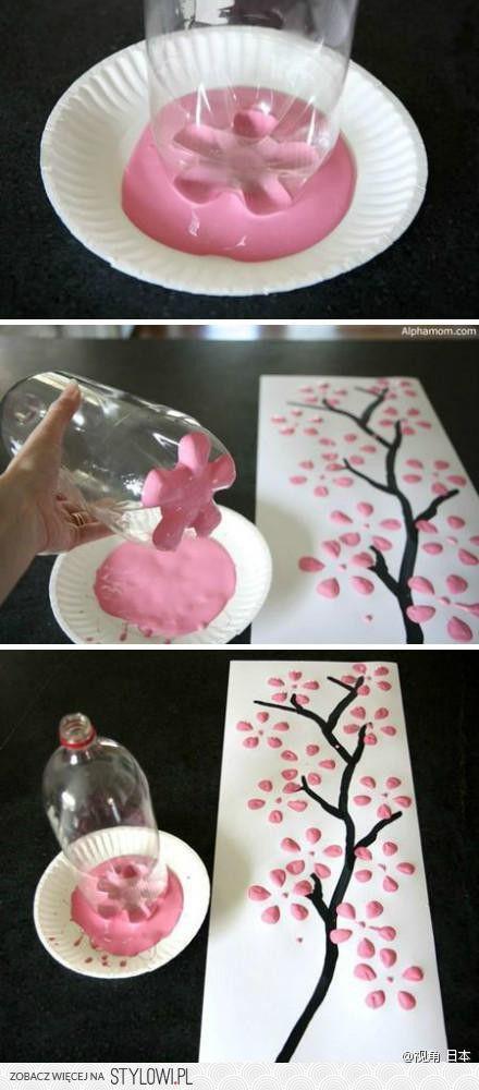 Arbres fleurs de cerisiers