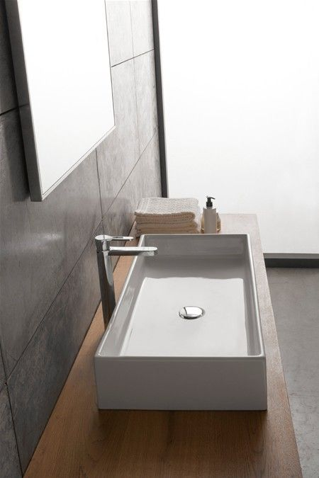Lavabo 80 5x39 Vasque A Poser Vasque Vasque Encastrable