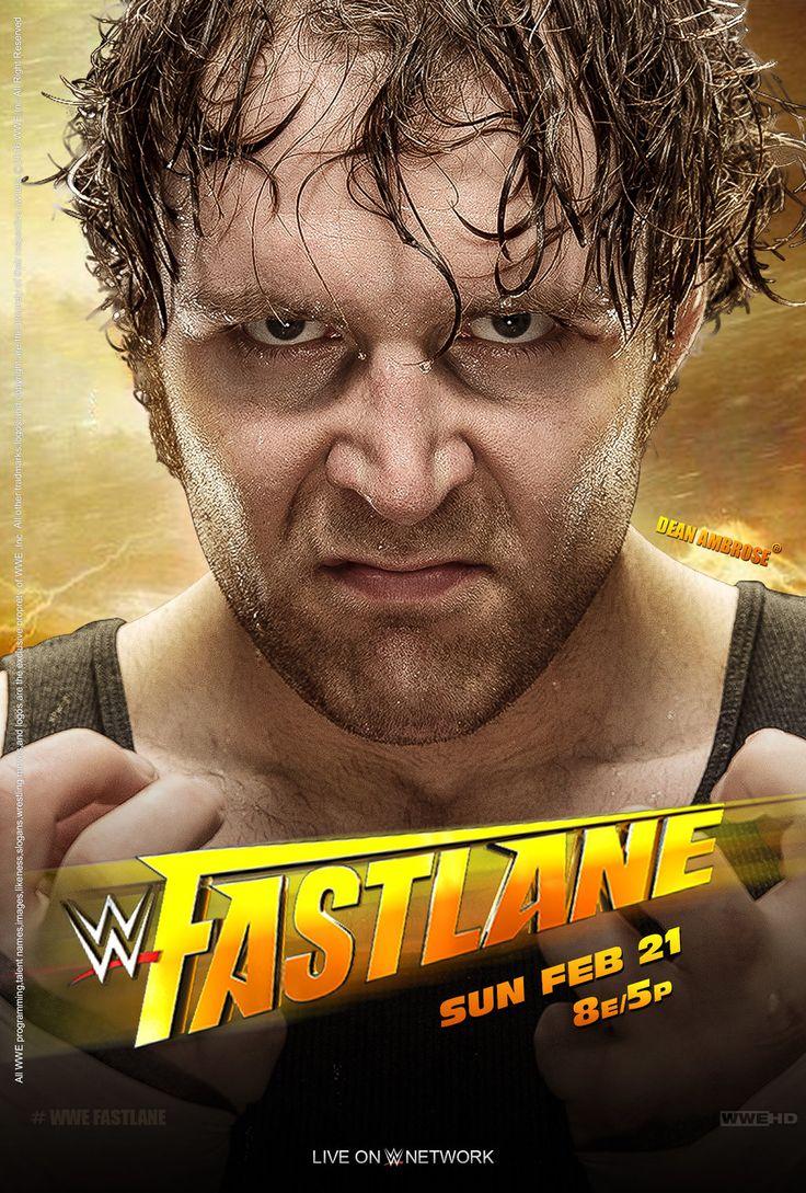 WWE FastLane 2016 Poster by edaba7.deviantart.com on @DeviantArt
