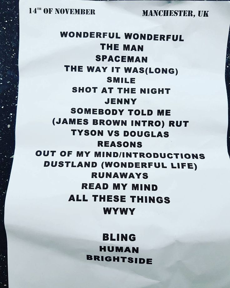 Lyric shot at the night lyrics : 67 best Wonderful Wonderful Tour Setlists images on Pinterest