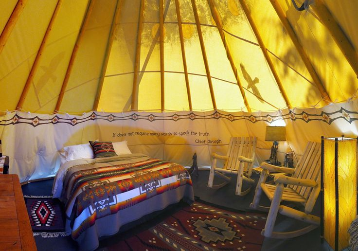 5 great places to go glamping in Western Washington | The Seattle Times