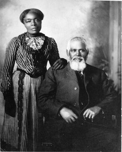 Amanda and Samuel Chambers were born into slavery in Alabama. In 1844, at the age of thirteen, Samuel converted to Mormonism. After the Civil War, he sharecropped in Mississippi until he could afford to migrate with his family to Utah. They moved in 1870 and became highly regarded members of the Salt Lake City Mormon community.