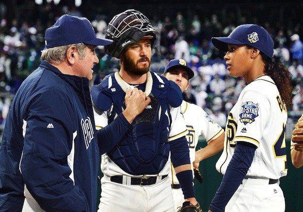 Pitch: série mostra vida de jogadora de beisebol - http://popseries.com.br/2016/05/25/pitch-serie-mostra-vida-de-jogadora-de-beisebol/