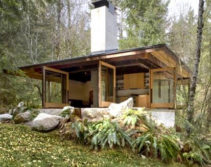 modern cabin cuteness.