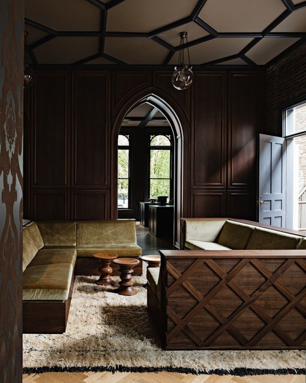 Gothic Office By Jessica Helgerson Interior Design Portland