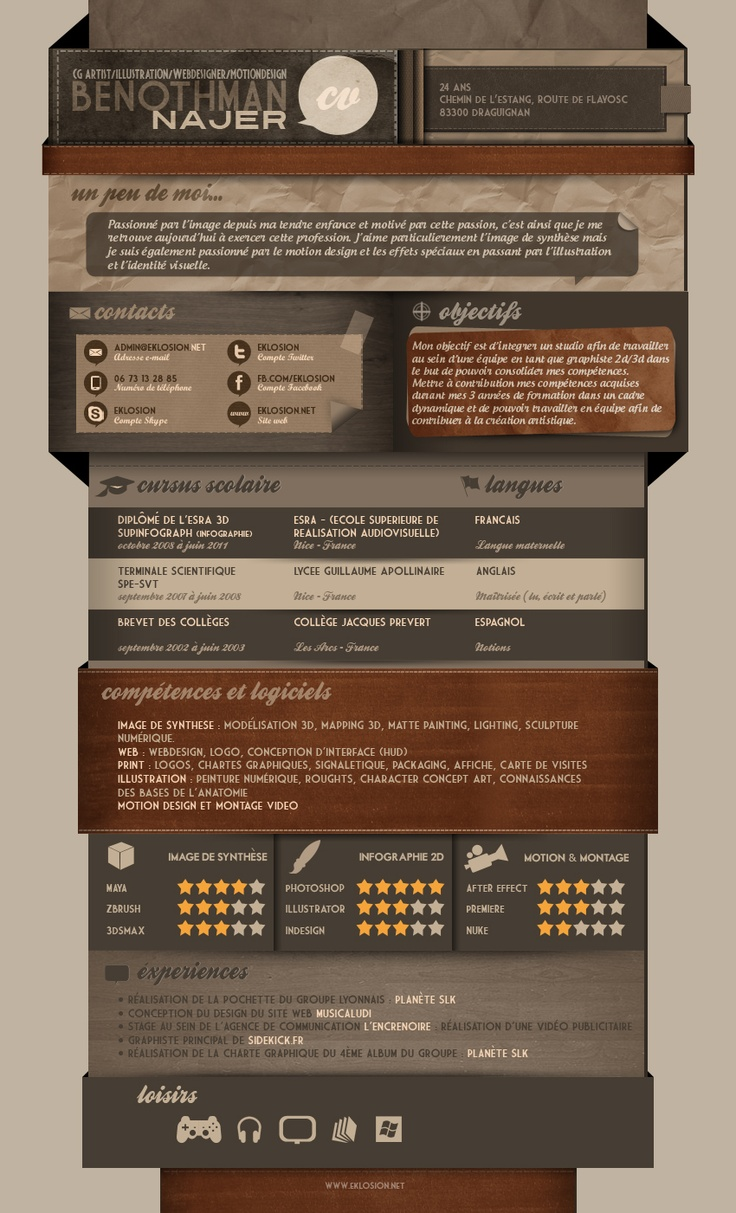 Curriculum Vitae 2012 by ~Eklosion on deviantART