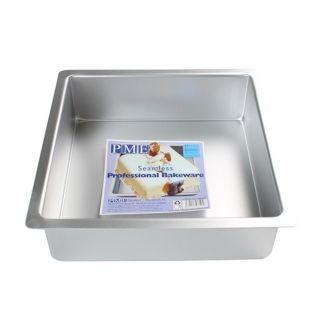 PME 10X10X4 CAKE PAN