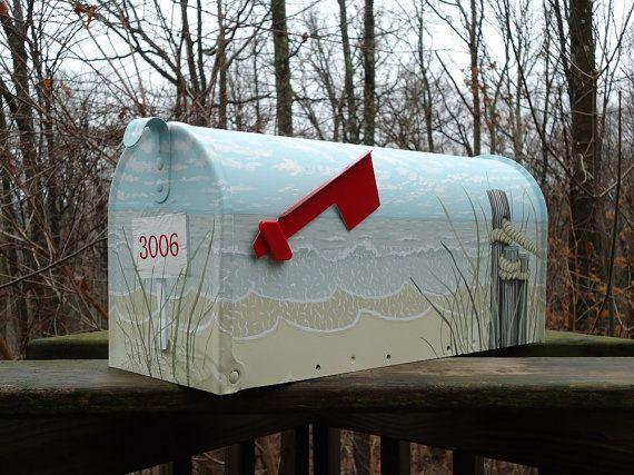Fête des mères sera ici avant que vous le sachiez. Maman aime les boîtes aux lettres qui sont peints pour eux ! Il sagit dune boîte aux lettres