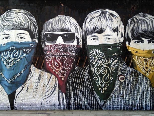 Perto de início de Jogos, polícia inglesa prende grafiteiros famosos de Londres