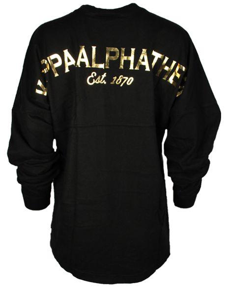 Kappa Alpha Theta Crest Derby Jersey by Adam Block Design | Custom Greek Apparel & Sorority Clothes | www.adamblockdesign.com