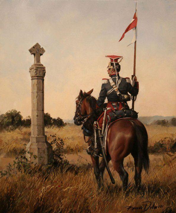 División de Caballería de la Guardia Real creada por Fernando VII --- Augusto Ferrer-Dalmau Nieto