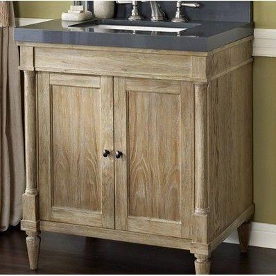 "Rustic Chic 30"" Traditional Single Sink Bathroom Vanity by Fairmont Designs | Discount Bathroom Vanities"
