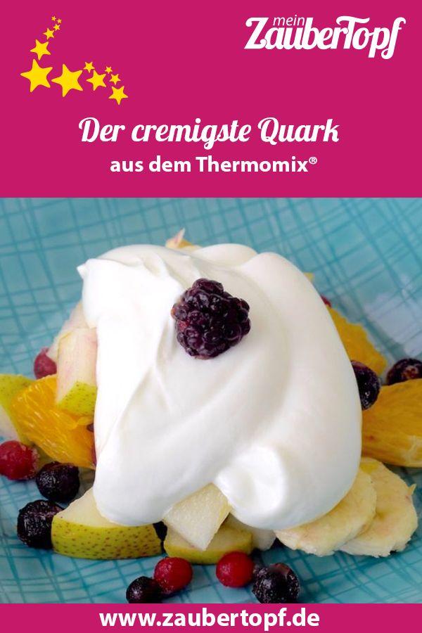Der cremigste Quark aus dem Thermomix®