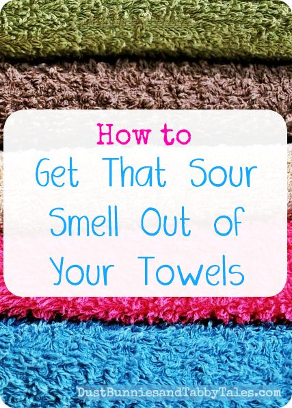 How to Get That Sour Smell Out of Your Towels | Towels ...