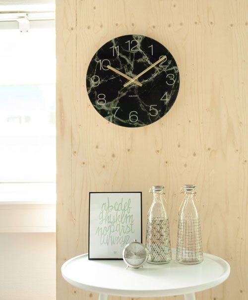 23 best KARLSSON Wanduhren images on Pinterest Wall clocks - schöne wanduhren wohnzimmer