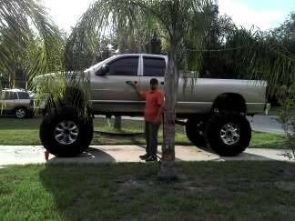lifted dodge dakota truck   2002 Dodge 1500 lifted on 49's Sell or Trade for $15,000 for Sale in ...