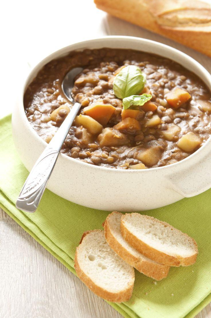 Deliciosa sopa de lentejas, ideal para cualquier ocasión, prepara esta deliciosa receta y consiente a tu familia todos los días con deliciosas lentejas.