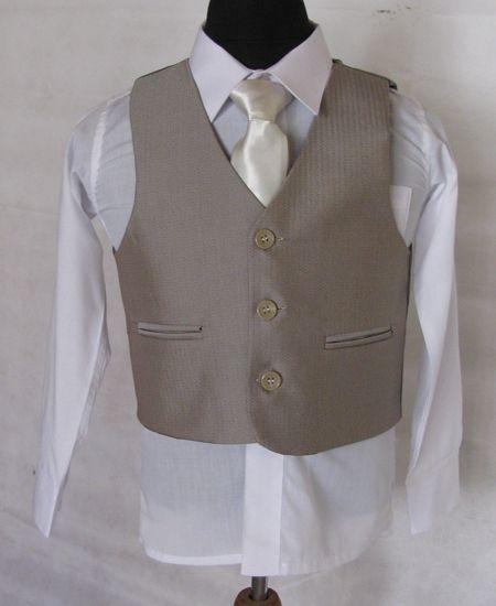 """Κοστούμια για Αγόρια - Σμόκιν :: Κοστούμι σε Μπεζ για Αγόρι """"Alexander"""" - http://www.memoirs.gr/"""