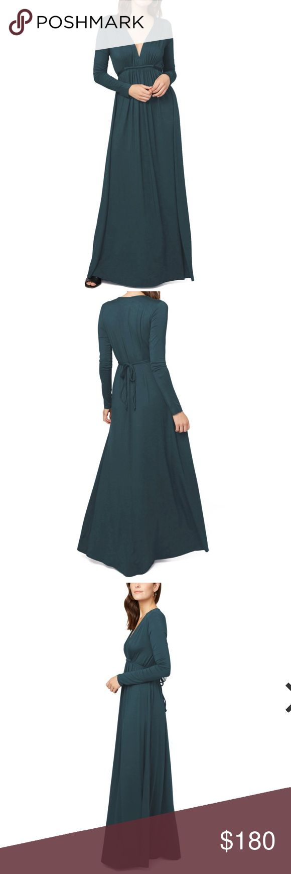 NWT Rachel Pally Long Caftan Elm M This long sleeve maxi dress is based off of Rachel Pally's all-time best seller. Featuring a stretchy, heavyweight modal jersey, it softly embraces your curves and offers a forgiving yet feminine drape.  Details:  Modal jersey - 92% modal, 8% spandex. Measures 68 in. from shoulder - left long for customized hemming. Made in the USA. Originally $242 - this item is new with tags. Rachel Pally Dresses Maxi