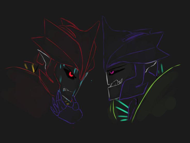 Knockout And Dark Ko by XD-or-what.deviantart.com on @DeviantArt