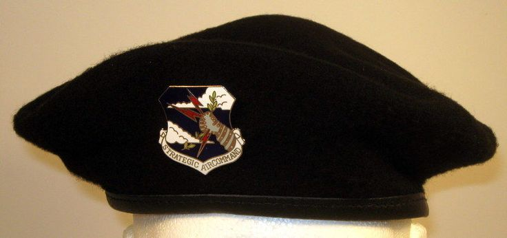 details about usaf air force security police air mobility command crest badge beret