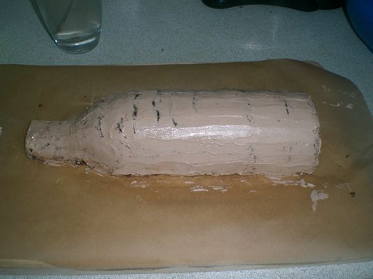 How to : bottle cake