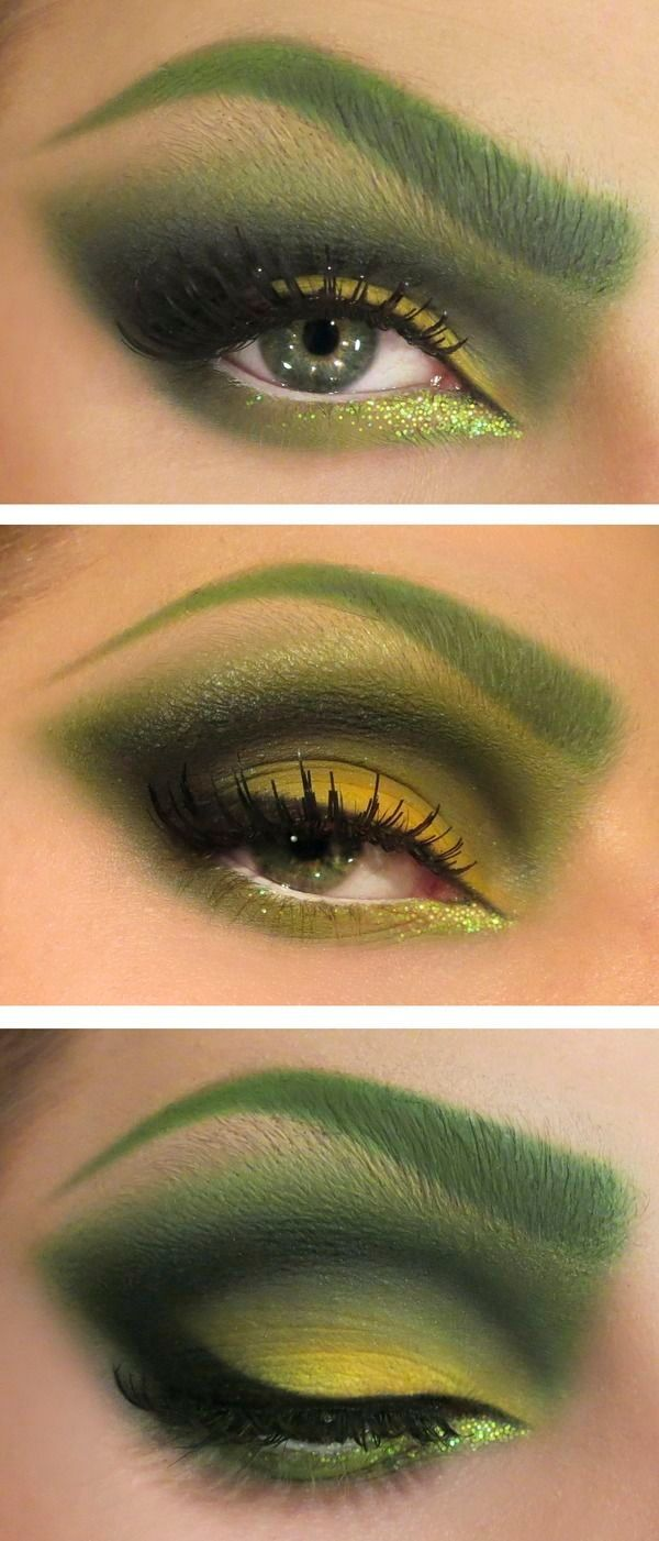 Poison Ivy Costume make up! by deana