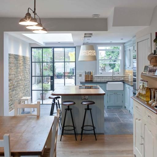 Beautiful kitchen by Chris Dyson Architects. Whistler Street posed the familiar challenges that Victorian terraces always do – a tight, narrow kitchen squeezed into the old closet wing and a gloomy...