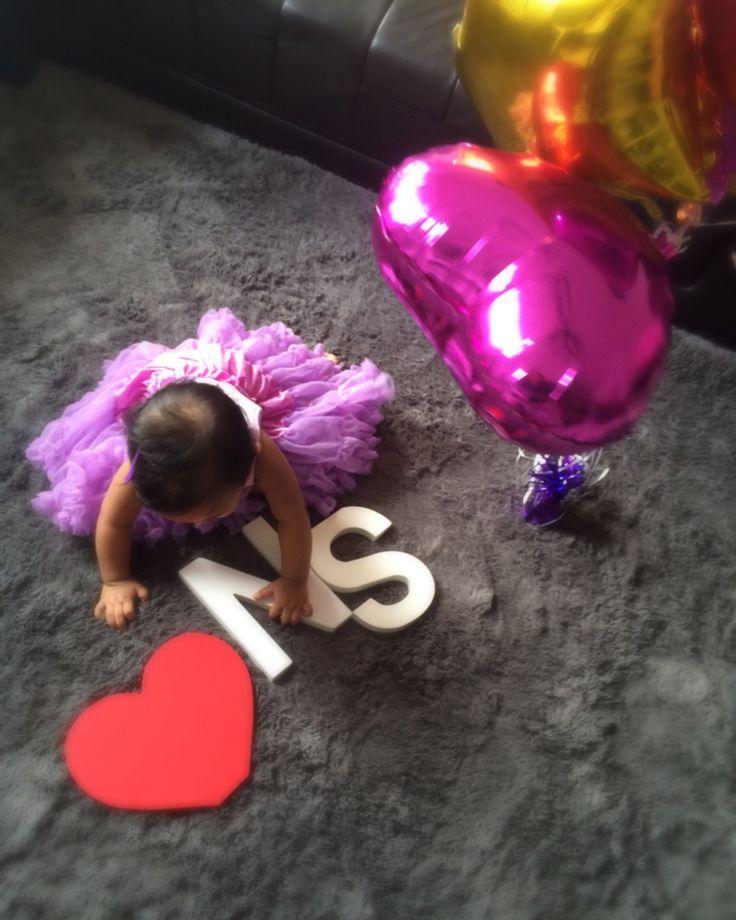 1st Birthday Photoshoot by her mom.